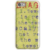 Teenager: iPhone Case/Skin