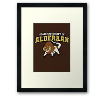 Aderaan State Home of the Nerfs! Framed Print