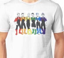 PRIDE in Overalls and Boots Unisex T-Shirt