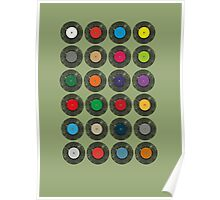 United Colours Of Vinyl Poster