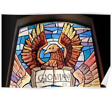 Giovanni .. in Stained Glass Poster