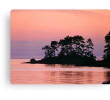 Sunrise At Rock Point III Canvas Print