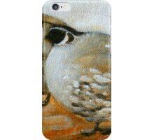 quail painting iPhone Case/Skin