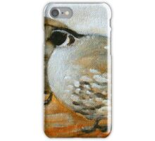 quail painting iPhone Case/Skin