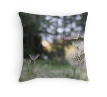 Drifting in the wind Throw Pillow