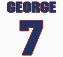 National baseball player George Fallon jersey 7 by imsport