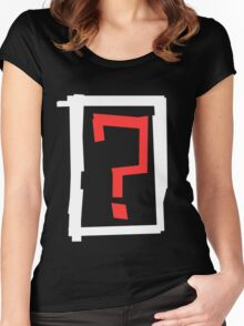 ? Women's Fitted Scoop T-Shirt