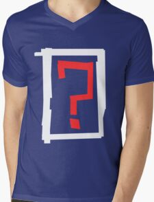 ? Mens V-Neck T-Shirt