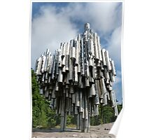 The Sibelius Monument  Poster
