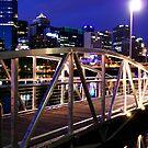 Melbourne footbridge by Rosina  Lamberti