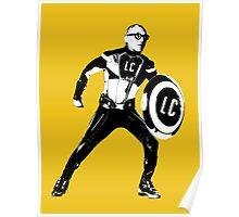 Supercorbu Le Corbusier Architecture T-shirt Poster