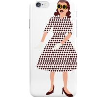 Steam Punk 50s-60s Dot Style iPhone Case/Skin