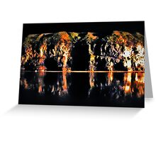 Cave Cathedral Greeting Card