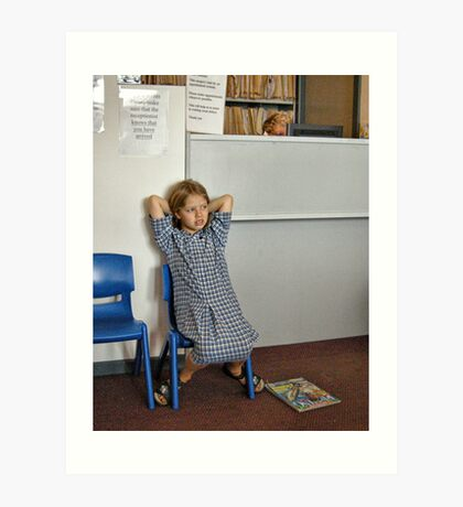 Waiting Room #2 Art Print