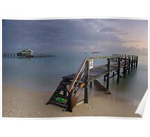 Shelly Beach Jetty Poster