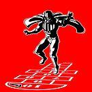 Darth Vader Hopscotch by RichWilkie