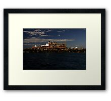 Film Set - Gold Coast Seaway Framed Print