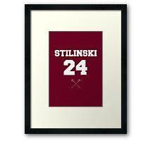 Stilinski 24 Framed Print