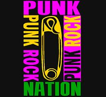 PUNK ROCK-PUNK NATION Unisex T-Shirt
