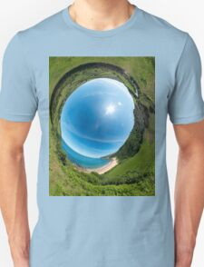 Kinnagoe Bay - Sky In Unisex T-Shirt