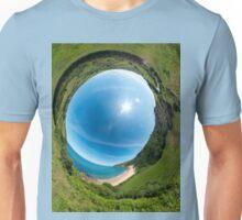 Kinnagoe Bay - Sky In Unisex T-Shirt