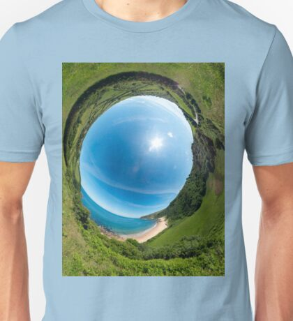 Kinnagoe Bay - Sky In T-Shirt