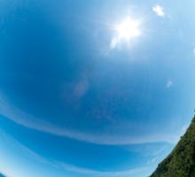 Kinnagoe Bay - Sky In Sticker
