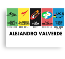 Alejandro Success Canvas Print
