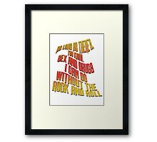This Is Spinal Tap - Rock And Roll Framed Print