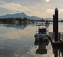 Port Hinchinbrook - Early morning by Paul Gilbert