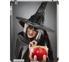 Witch offering a poisoned apple iPad Case/Skin