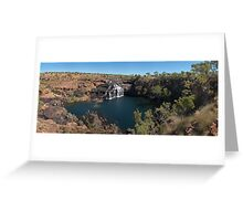 Manning Gorge Greeting Card