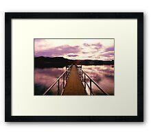 Dunedin Harbour2 Framed Print