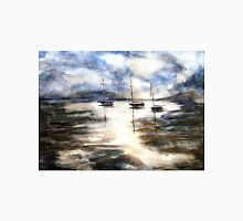 Sail Boats on The Mud Flats Unisex T-Shirt