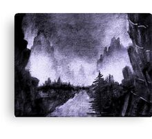 Sumi-e Ink 4 Canvas Print