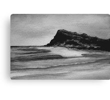 Sumi-e Ink 5 Canvas Print