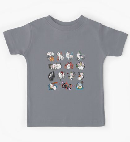 Okami brush gods Kids Tee