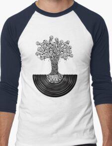 Music Roots Men's Baseball ¾ T-Shirt