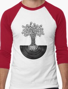 Music Roots Men's Baseball ¾ T-Shirt