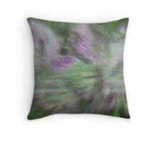 FEATHERS AND WINGS Throw Pillow