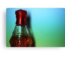 Bottle of Colours Canvas Print
