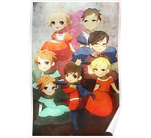 Ouran Cross Dress Poster