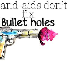 Band-aids don't fix bullet holes.  by LindeSwi13