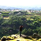 A Photographer's View from Monte da Senhora da Confianca  by Marilyn Harris