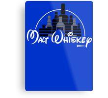 Malt Whiskey not Walt Disney Metal Print