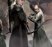 Thranduil, Legolas and Tauriel Sticker