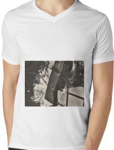 10:58, Still Snowing Mens V-Neck T-Shirt