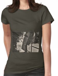 10:58, Still Snowing Womens Fitted T-Shirt