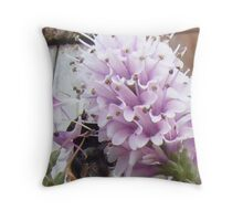 Hebe with Bee Throw Pillow