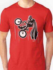 Darth Vader shredding on his BMX T-Shirt